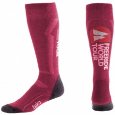 Teko Unisex Freeride Ski Light Sock - Azalea