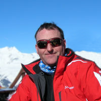 Avalanche safety expert Stephen Reid