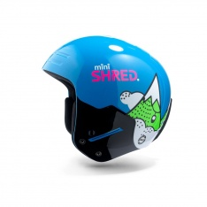 Shred Basher Mini Children's Ski Race Helmet