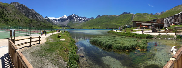 Tignes in the summer